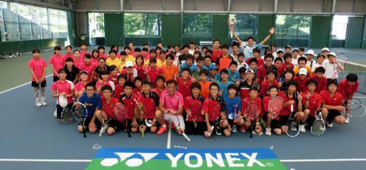 岐阜県中学校テニス連盟 テニス練習会