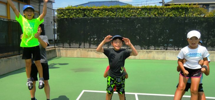 SHOW.T.P安城校 夏休みジュニア短期練習会(ジュニア2)の最終日