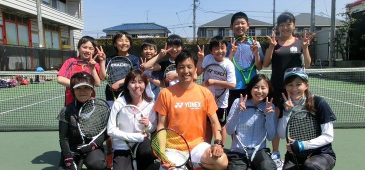 SHOW.T.P安城校 「春の短期テニスレッスン(ビギナーの方向け)」 第1回目