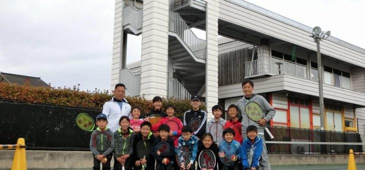 安城校 2017冬休みジュニア特別強化練習会 初日