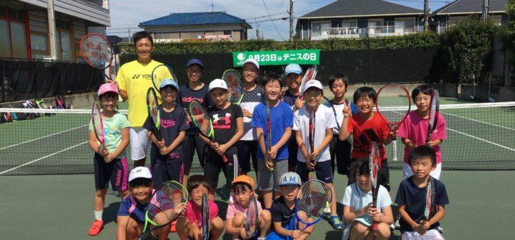 SHOW.T.P安城校 テニスの日イベント
