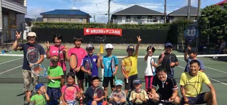 SHOW.T.P安城校  2019テニスの日 特別レッスンイベント