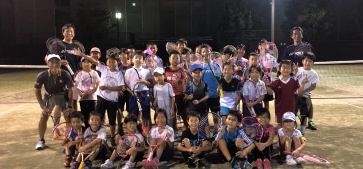安城市ジュニアテニス教室 後期