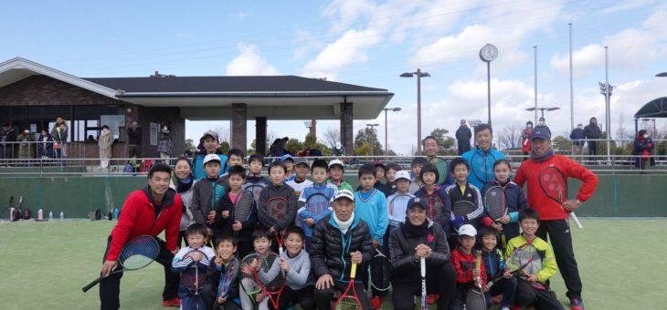 安城市硬式テニス協会主催 ジュニア強化イベント
