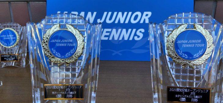 安城市硬式テニス協会 & SPORTS SUNRISE .COM主催  「2020 愛知安城オープンジュニア:1月」
