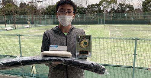 第34回 岡崎テニス選手権 シングルス優勝!!