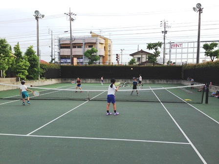 テニスの技術だけでなく・・・