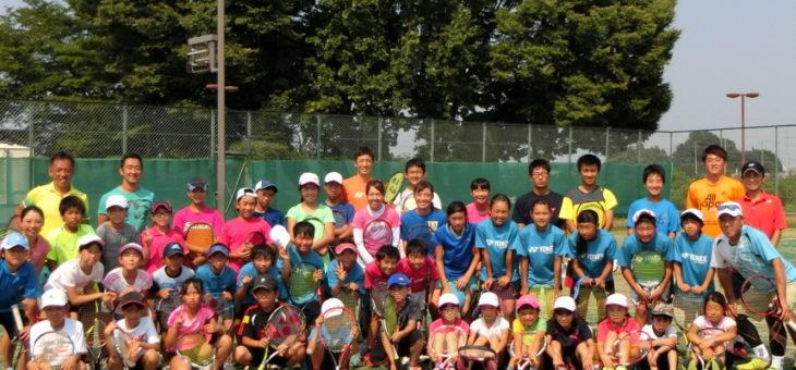 月例強化練習会 新橋テニスクラブ