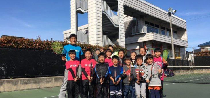 安城校 冬休みジュニア短期練習会 3日目最終日
