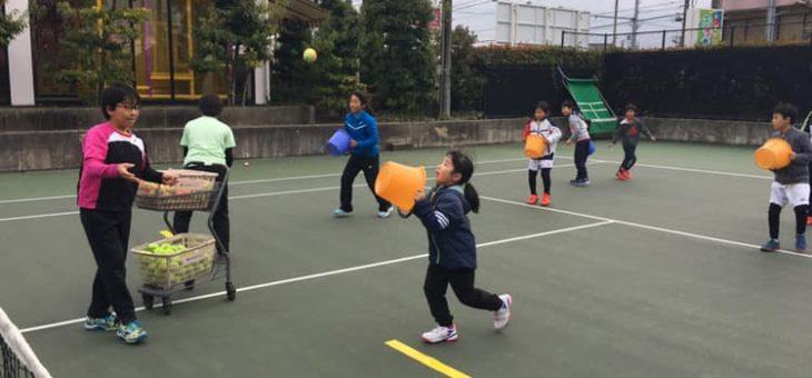 冬休みジュニア短期練習会 2日目
