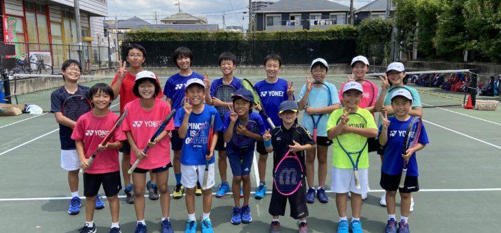 SHOW.T.P安城校 夏休みジュニア強化練習会 初日